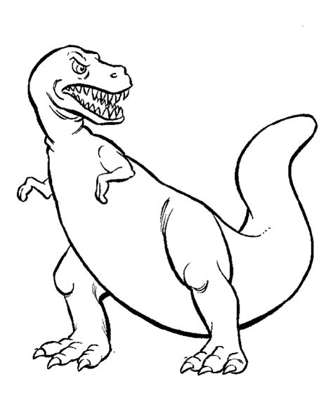 cartoon dinosaur coloring pages coloring home