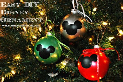 diy ornaments disney easy diy disney ornaments will cook for smiles