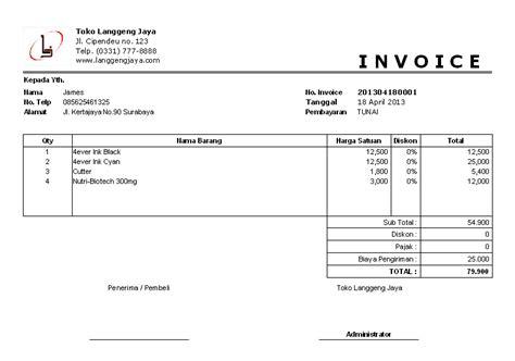 Contoh Surat Sakit Kirim Ke Sekolah by Software Toko Penjualan Dilengkapi Cetak Invoice Surat