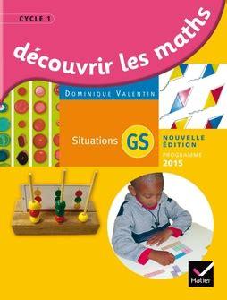 D 233 Couvrir Les Math 233 Matiques Grande Section 233 D 2015