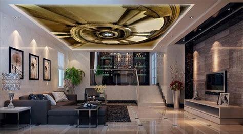wallpaper living room ceiling ladder luxury wallpaper