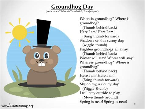 groundhog day soundtrack groundhog day theme 123 play and learn child care