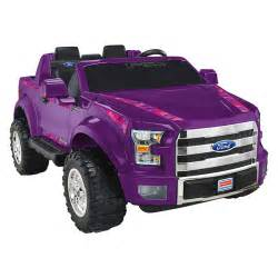 Power Wheels F150 Truck Fisher Price Power Wheels Purple Camo F 150 Autos Post