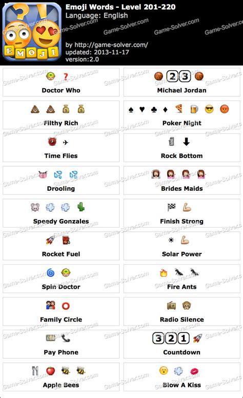 emoji words level   game solver