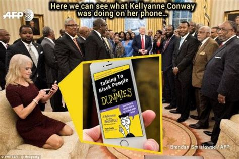 Resolute Desk Trump by Kellyanne Conway S Oval Office Gaffe Gets Meme Treatment