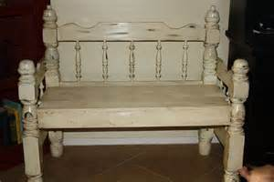 bench from headboard and footboard headboard footboard benches images