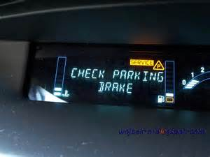 Brake System Fault Renault Megane Wojtek N Clutch Parking Sensor Problem Error In Renault