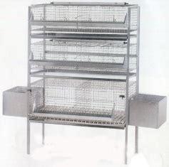 vendita gabbie conigli gabbia per conigli ingrasso e fattrici 63qrp tabec