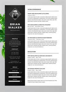 20 personal cv resume templates psd free to customize