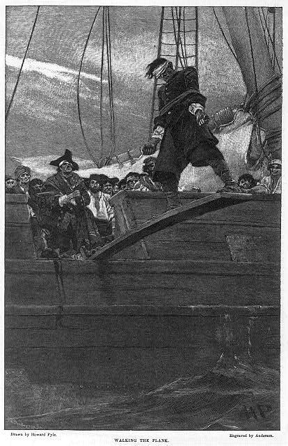 Walking The Plank by Early American Crime Early American Criminals William