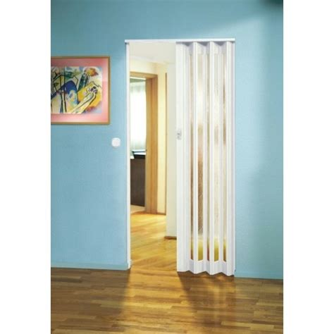Concertina Doors The Eurostar Concertina Folding Door White Glass