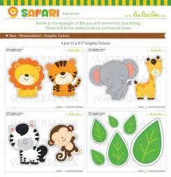 Safari baby showers