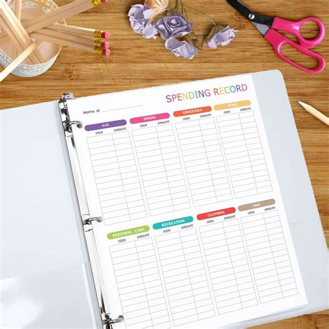 expense log book expense tracker notebook organizer keep track or daily record about personal cost spending expenses ideal for travel cost planner binder travelers notebook volume 6 books 17 best ideas about expense tracker on