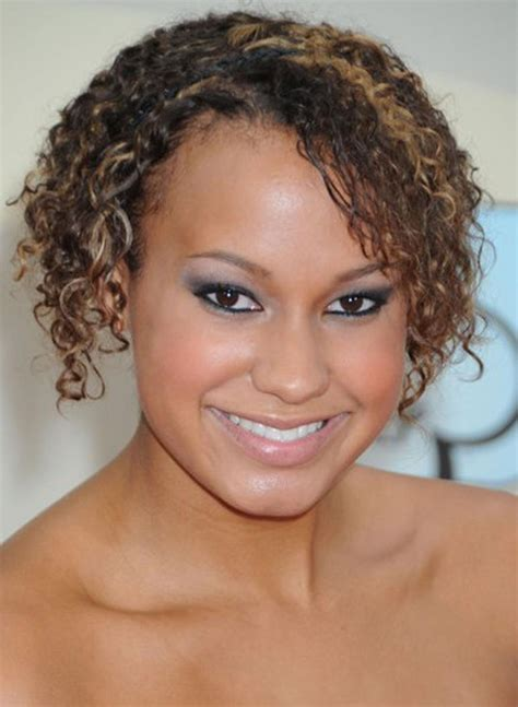 Find Short Curly Hairstyle For African Americans | pictures of short african american hairstyles for round face