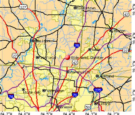 West Chester Ohio Detox by Westchester Ohio Map My