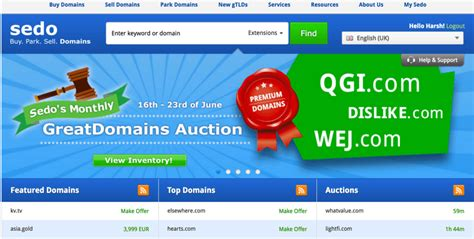 sedo domain 5 websites to buy or sell websites domains