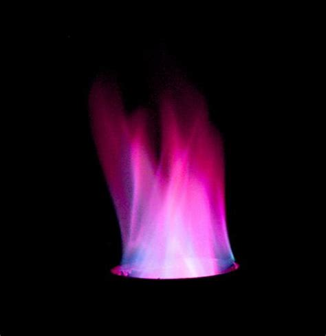 how to make colored flames purple easy for colored flames