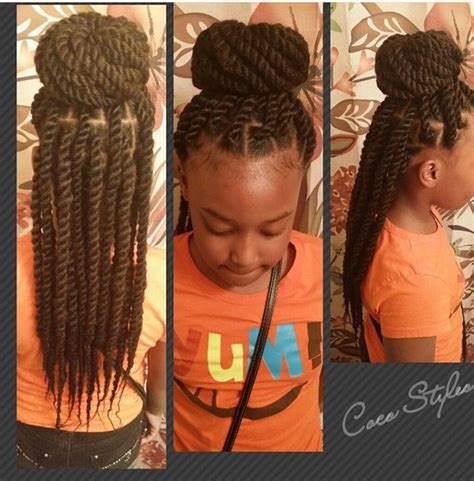 is there any picture showing short weave to plait black girl hairstyles with weave