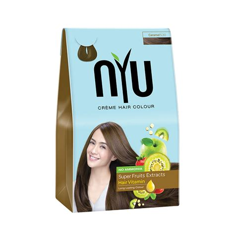 nyu colors jual nyu hair color caramel 30ml jd id