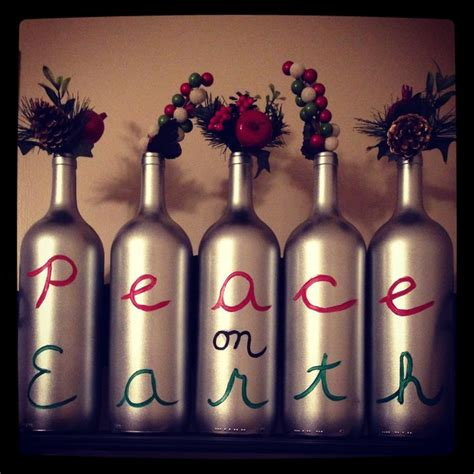 my christmas wine bottle crafts holiday birthday