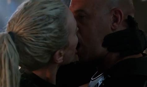 fast and furious kiss fast furious 8 the fate of the furious trailer vin