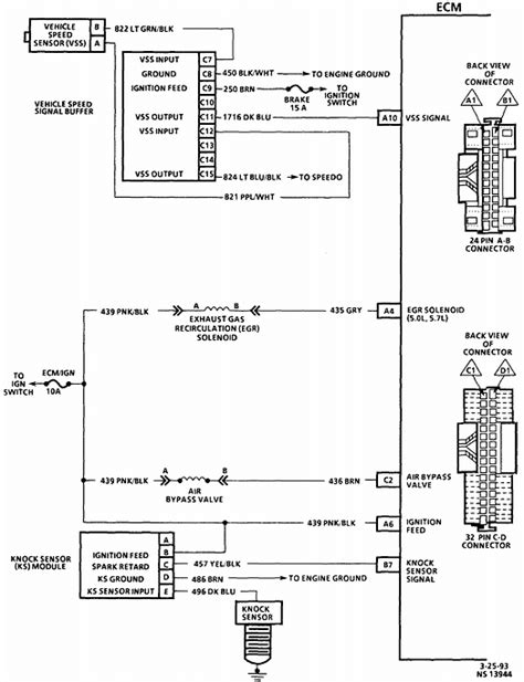 gm ecm wiring diagram gm free engine image for user manual