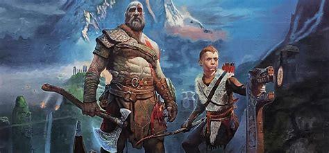imagenes con movimiento de kratos god of war la odisea de kratos y su llegada a ps4