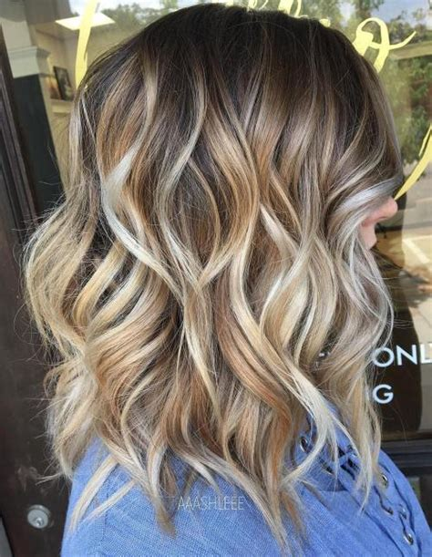 Medium Length Hairstyles For Thick Wavy Hair by 80 Sensational Medium Length Haircuts For Thick Hair In 2018