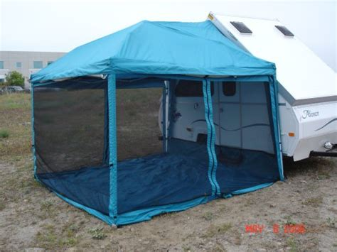 rv awning frame 100 dometic cabana screen room question dometic