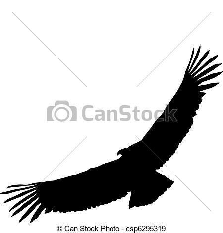 andean condor distribution royalty free eps vectors of condor silhouette of condor csp6295319