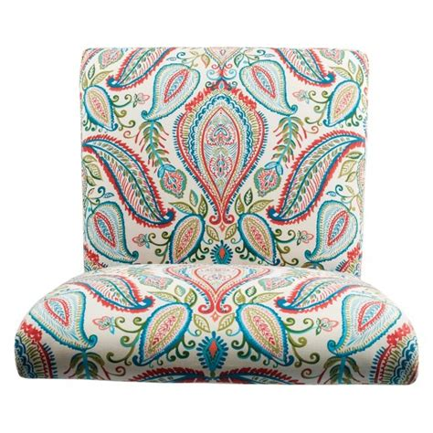 homepop slipper accent chair and ottoman slipper accent chair and ottoman coral turquoise homepop