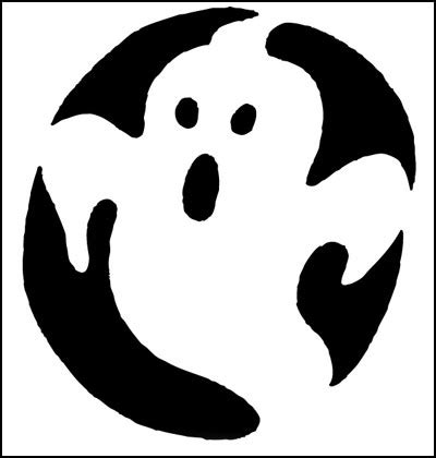 ghost pumpkin template spooky ghost