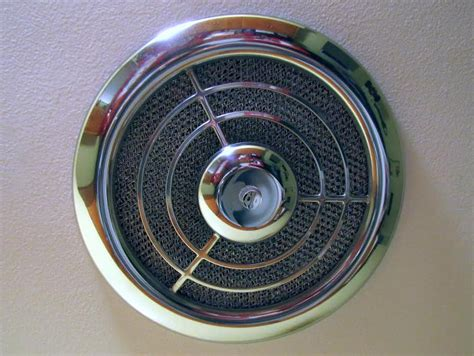 bathroom exhaust fan cover grill get your nos vintage exhaust fan grille cover while the