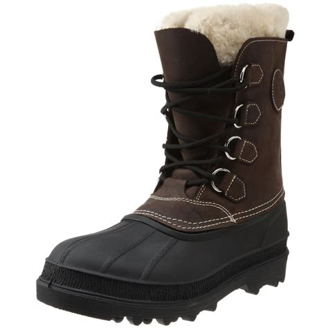 cold weather boots for kamik mens pearson cold weather boot in brown for lyst