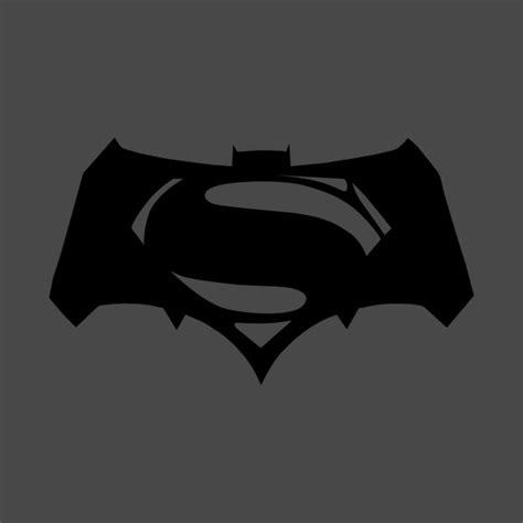 Tshirt Batman Logo Black B C batman v superman batfleck logo black batman v