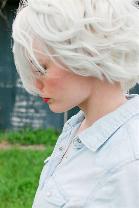 short white hair 25 best ideas about short white hair on pinterest short