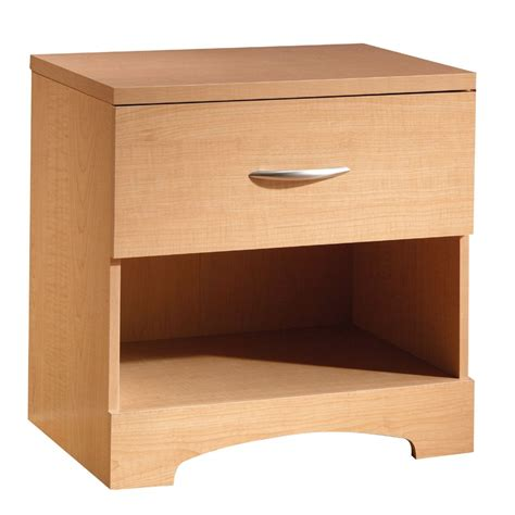 maple night stands bedroom south shore step one night stand natural maple home