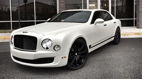 bentley white and black my wrapped 2014 bentley mulsanne 1050x591 rebrn com
