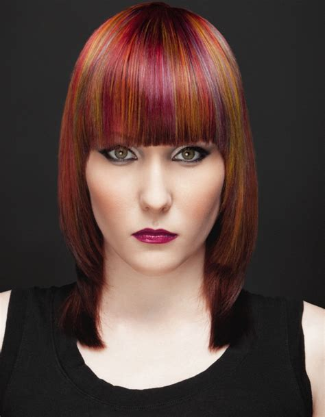 blunt fringe hairstyles new blunt bangs hairstyle ideas