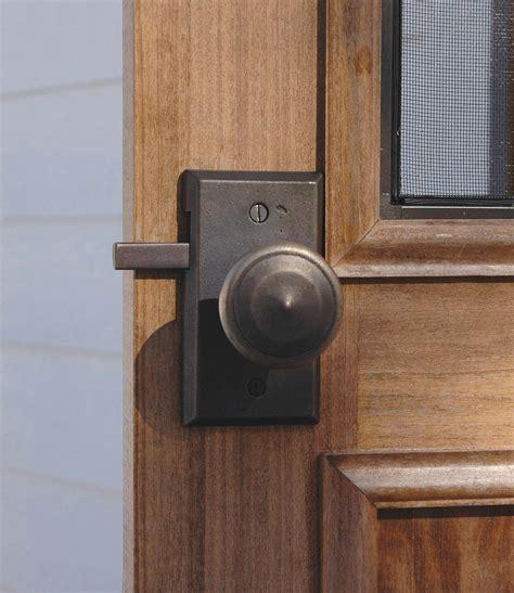 Gate Door Knobs by Rectangular Gate Hardware Passage Gate Latch E414 Rocky