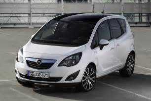 Opel Mariva Opel Launches Meriva Color Edition Special In Germany