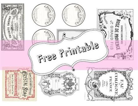 free printable vintage jar labels best photos of free printable vintage labels free
