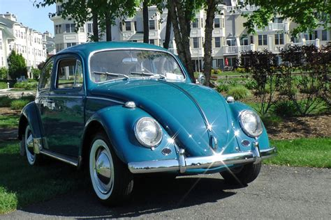 blue volkswagen beetle vintage vintage 1964 vw volkswagen beetle bug sedan sea