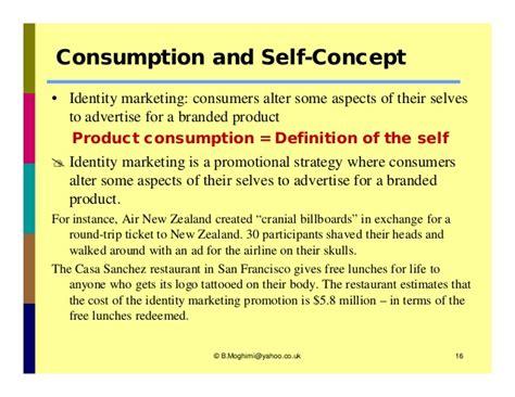 Definition Of Selves - consumer behavior self ch05 solomon book by bahman moghimi