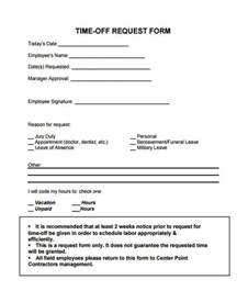 time request form template 24 time request forms in pdf