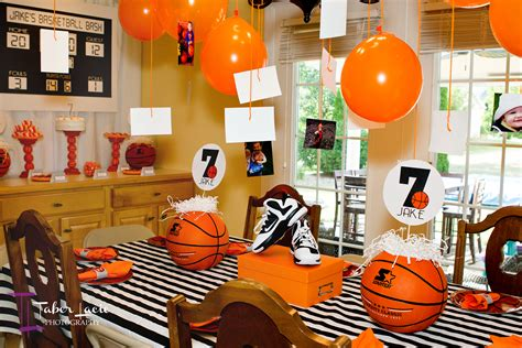 Basketball Decor by Basketball Birthday