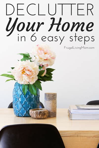 lesson 6 declutter your home declutter your home in 6 easy steps