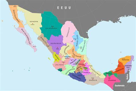 emplacamiento estado de méxico 2015 mapas de m 233 xico gu 237 a de m 233 xico turismo e informaci 243 n