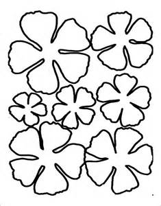 flower cut out template flower cutouts template www pixshark images
