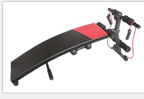 Alat Fitness Roda Perut Alat Melatih Otot Perut T1910 6 alat fitnes sit upp bench melatih kekuatan otot perut